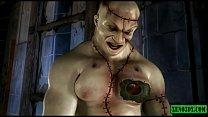 Frankenstein's Monster fucks like crazy! 3DX animation