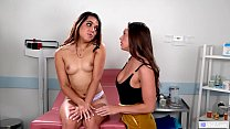 GIRLSWAY - She does everything for a speaking role! - Abigail Mac and Esperanza Del Horno