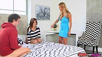Image: Moms Bang Teen  - Mom catches couple