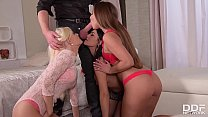 Extremely hot strip poker orgy with Aida Sweet ...