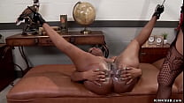 Huge black ass lesbian anal fucked