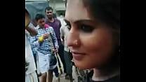 Desi girl public show