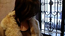 Busty French babe fucks for cash preview image