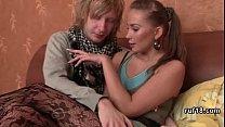 Petite Bondage Teen In Couple Hardcore Sex