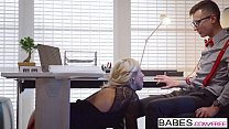 Babes - Office Obsession - Employee Of The Month  starring  Karol Lilien and Charlie Dean clip