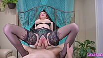 Curvy Cougar Shanda Fay Butt Banged Until She Leaks Cum Out Of Her Ass