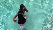 icdn cp, Kat Young And Brooke Skye By The Pool thumbnail