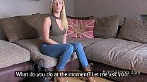 Big cock Brit agent bangs blonde