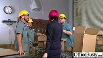 (anna bell peaks) Slut Girl With Big Round Tits Get Bang hard In Office mov-4