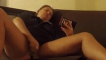 Pornception - MILF gets horny watching porn and makes some of her own