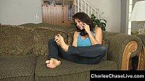 Big Tit Charlee Chase Foot Fuck and Tickled! Vorschaubild