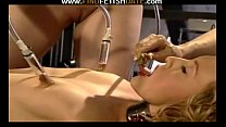 Lesbians BDSM games and suctions play