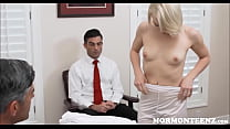 Jerking in the office