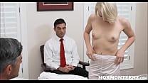 Mormon Teen Trillium Masturbates To President Jerking Off
