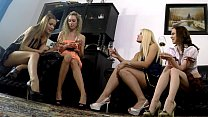 Bottom Cam Go Pro for Party Girls from our Home Some small view from their skirts like upskirt angle