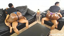 17410 Ebony BBW Stepsister Riding and Grinding   Clip preview
