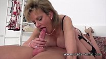 MILF Sonia is fucked hard and got to squirt Preview