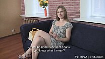 Tricky Agent - Blondy Emma with a perfect ass in a tiny dress! Preview