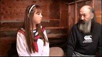 Japanese girl fucks with several homeless