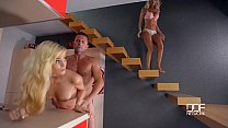Chloe Lacourt and Candee Licious enjoy Explosiv...
