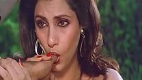 Sexy Indian Actress Dimple Kapadia Sucking Thumb lustfully Like Cock thumbnail