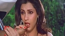 Sexy Indian Actress Dimple Kapadia Sucking Thumb lustfully Like Cock video