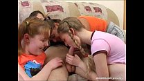 Foursome with teens thumbnail