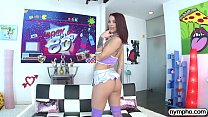 NYMPHO Evelin Stone stretched out by a thick dick - 9Club.Top