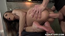 Veronica Clark getting her asshole pounded hard
