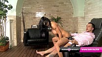 Babestation Casting Couch - Chantelle Fox railed by Monty