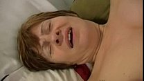 59 years old granny masturbating