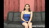 ECUATORIANA ADOLORIDA EN SU PRIMER VIDEO PORNO - BRAZILXPORN.COM image