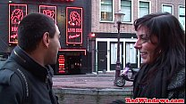 18216 Amsterday hookers in threeway action with lucky tourist preview