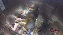 Sorayyaa e Leo Ogro foram pegos fudendo no elevador