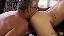DADDY4K. Horny brunette unleashes all lust on boyfriend's old daddy Vorschaubild