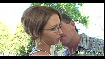 Mom and daughter threesome 1123