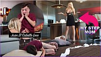 BANGBROS - Horny Step Mom Katie Morgan Punishes Juan For Messing Up The Condo