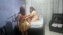 INVADERING THE RECORDING AND FUCKING THE BBW WITH Sorayyaa and romynhorj