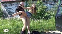 Outdoor Public Doggystyle Amateur POV GERMAN Fuck Compilation Vorschaubild