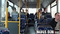Exhibitionist teen (Lindsey Olsen) gets Ass-Fucked on the Public Bus - Mofos Preview