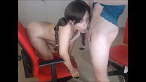 Beautiful Teen Doll and her Sexy Shemale Lover Having some real fun