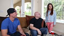 Teen Sally Squirt Gets Dicked Down by Daddy's Friend! (dfmd14980)