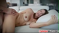 stocking footjob - Bound whore Sadie Holmes cleansed from sin by perv priest thumbnail