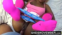 Push Your Finger Into My Nasty Asshole Daddy & Sweet Ebony Pussy Love That s. Msnovember HD Sheisnovember