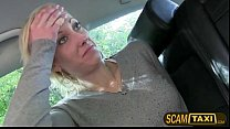 Blonde amateur Johana cant pay the taxi bill and gives head instead tumblr xxx video