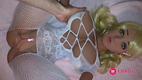 Real Person Fuck Sex Doll ESDOLL 140cm 4.59ft Online Video