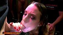 Beautiful young Lana tries get her first Pissing gangbang - 666Bukkake Vorschaubild
