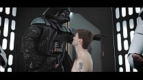 Vaders dick suck by Dennis and anal fuck