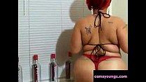 Amazing Round Booty Girl Bikini Twerking Free Porn