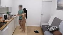 Bianka wants to be a porn model and she bangs her neighbour to prove it